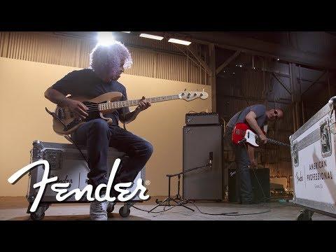 Sergio Vega of Quicksand / Deftones & The American Professional Jazz Bass   Fender