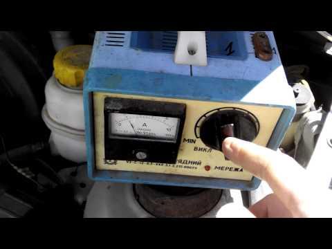 Как измерить зарядку аккумулятора.(напряжение бортовой сети автомобиля.).