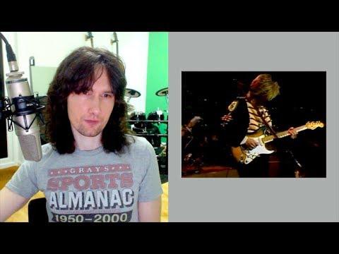 British guitarist reacts to Eric Johnson's award winning display!