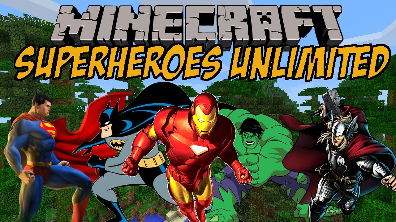 superhelden in minecraft