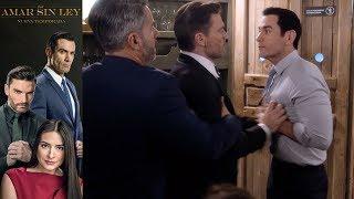 Por Amar Sin Ley 2 - Capítulo 10: Ricardo y Carlos vuelven a enfrentarse - Televisa