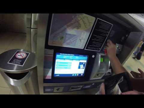 Сколько стоит билет в метро Дубай. Как купить билет в метро через терминал