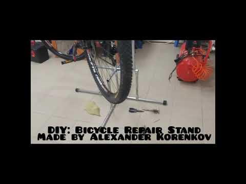 DIY: Bicycle Repair Stand