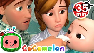 Sick Song + More Nursery Rhymes & Kids Songs  CoComelon