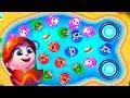 ГОВОРЯЩИЙ ТОМ АКВАПАРК #13 Анджела Хэнк Бен и Джинджер мультик игра видео для детей Talking Tom Pool