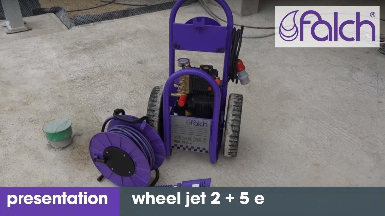 hochdruckreiniger - falch wheel jet 2 + 5 e product presentation - www.falch.com