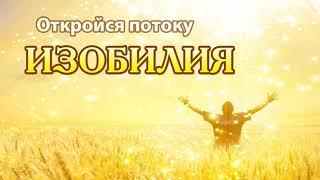 Подключение к Изобилию вариант 2.Секреты изобильной жизни!!! Универсальная формула!!!