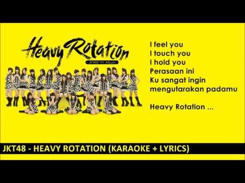JKT48 - Heavy Rotation ( Karaoke)
