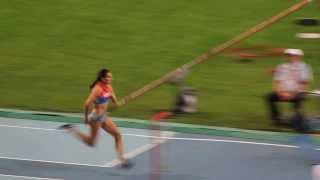 Последний прыжок Елены Исинбаевой на ЧМ на 5,07. Moscow 2013 - Pole Vault Women - Final - Gold