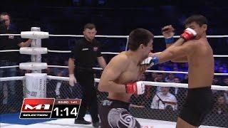 Эрлан Улукбеков vs Павел Гордеев, M-1 Challenge 73