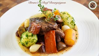 Bruno's Beef Bourguignon – Bruno Albouze – THE REAL DEAL