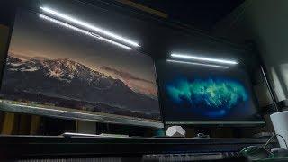 最好的桌面照明解决方案——明基屏幕挂灯