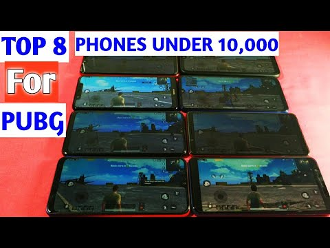 Top 8 Best Gaming Phones Under Rs. 10000 In India | Best Gaming Mobile For PUBG Under ₹10,000 August