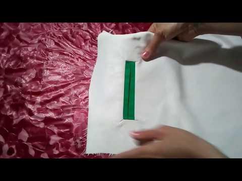 8791b60b0  عمل جيب شق او جيب عروة باسهل طريقة - YouTube