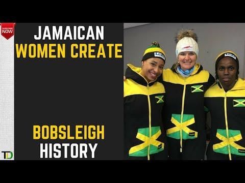 Jamaica's WOMEN Bobsleigh Team QUALIFY for 2018 Olympics - Teach Dem