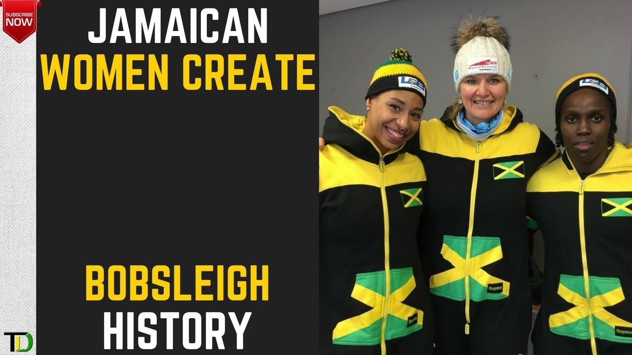 Jamaica's WOMEN Bobsleigh Team QUALIFY for 2018 Olympics ...