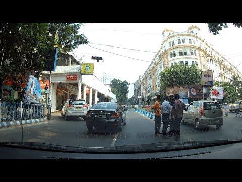 Middle Kolkata Driving Towards North - From Maidan Going Towards ShyamBazar