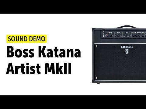 Boss Katana-Artist MkII - Sound Demo (no talking)