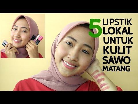 [rekomendasi]-5-lipstik-lokal-yang-cocok-untuk-kulit-sawo-matang-#wulanhusna