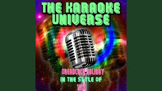 Dreadlock Holiday (Karaoke Version) (In the Style of 10cc)