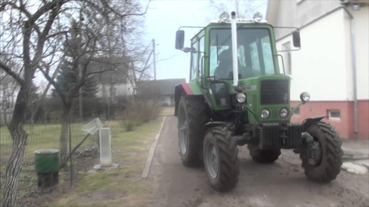 Тест-драйв МТЗ-82 Беларус - YouTube