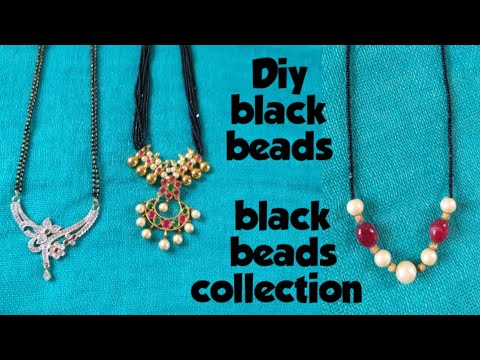 #Black Beads Collection      #my Black Beads Chains Collection #begumbazarshopping