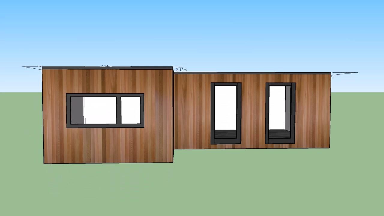L shaped garden room design - YouTube on L Shaped Backyard Layout id=73310