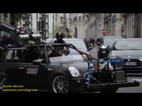 Mission Impossible 6 Henry Cavill Moto Paris  rue de Lisbonne 2017 !