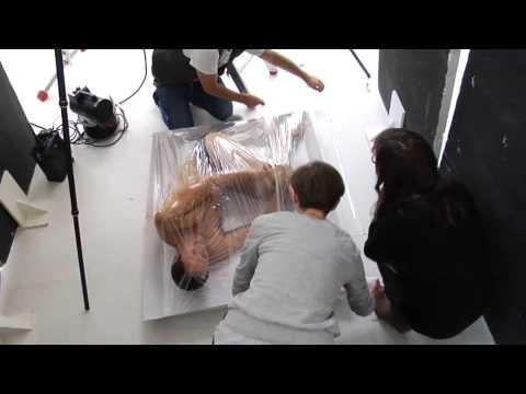 Markus Knüfken - Hinter den Kulissen beim PETA-Shooting