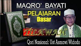 Video QORI NASIONAL UST K.H ASMAWI WIDODO SYAMSUDIN Pelajaran Dasar Lagu Bayati Tausikh. download MP3, 3GP, MP4, WEBM, AVI, FLV September 2018
