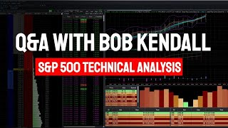 Live Market review with Bob Kendall