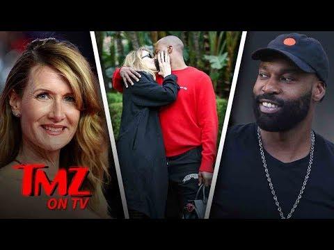 Laura Dern Spotted Kissing NBA Star Baron Davis  TMZ TV
