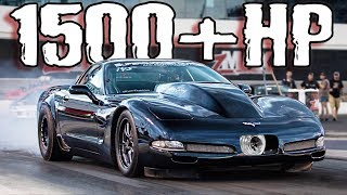 These STICK SHIFT Racers are Crazy! | Procharged Corvette, 2JZ 240SX and MORE!