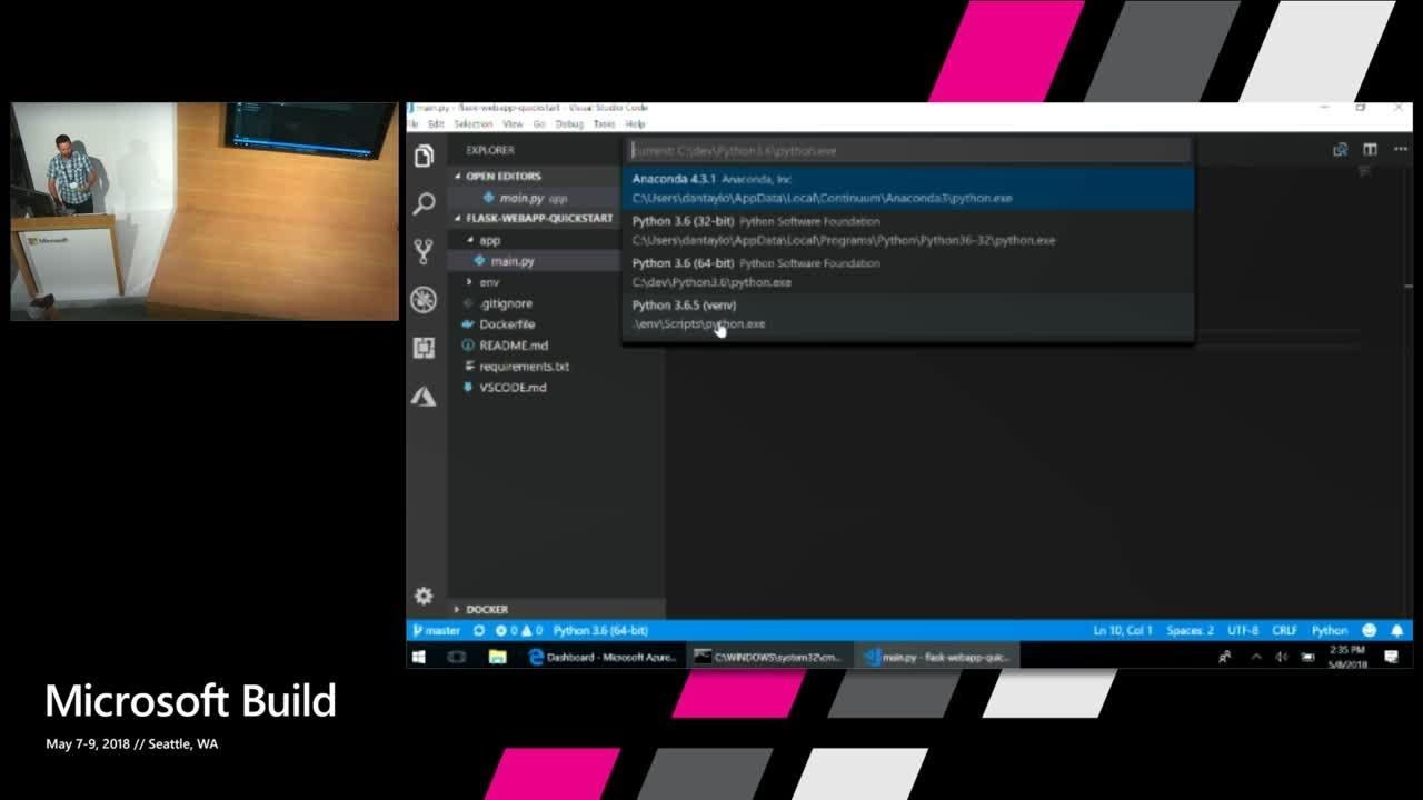 From Zero to Azure with Python and Visual Studio Code