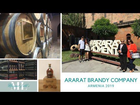 ARARAT BRANDY COMPANY MUSEUM AND AYGEVAN FACTORY TOUR (ARMENIA 2019)