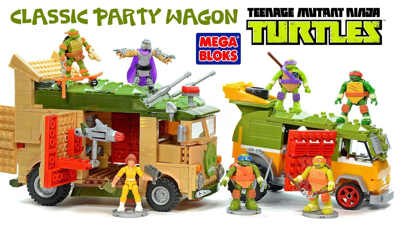 lego ninja turtle party wagon instructions