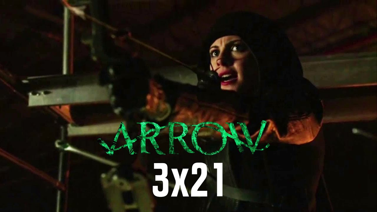 Download Arrow 3x21 - Thea shoots Oliver with an Arrow