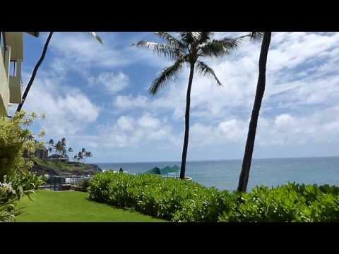 Kauai Oceanfront condo rental, Poipu Shores #103A, Kauai