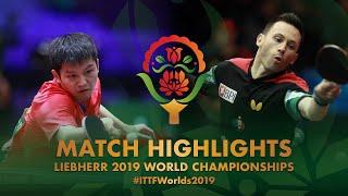 Fan Zhendong vs Joao Monteiro | 2019 World Championships Highlights (R64)