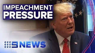 Impeachment inquiry into President gets personal | Nine News Australia