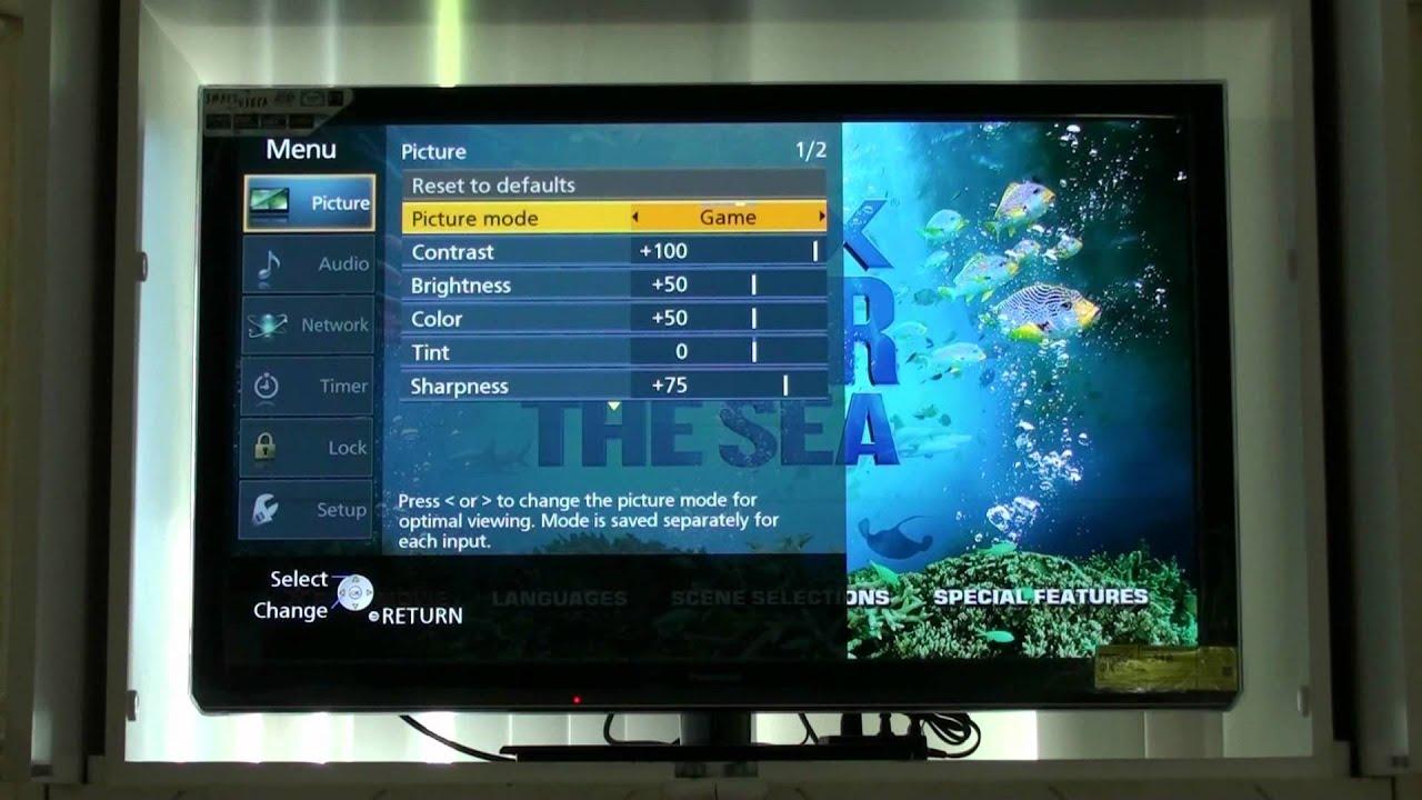 Panasonic Ut50 Plasma Tv Review Youtube