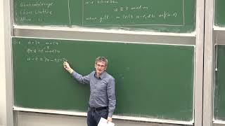 Vorlesung 2: Modulare Arithmetik und historische Chiffren von Christof Paar