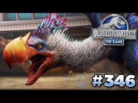 A New Glacier Battle!!! || Jurassic World - The Game - Ep346 HD