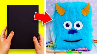 4 Cool DIY Ideas For School