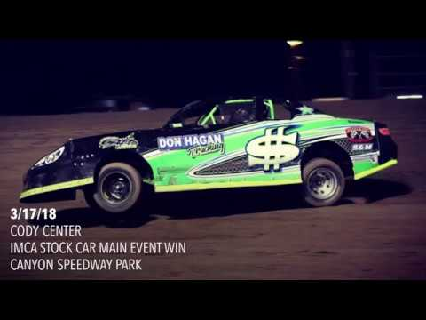 3/17/18 IMCA Stock Car Main Event Canyon Speedway Park