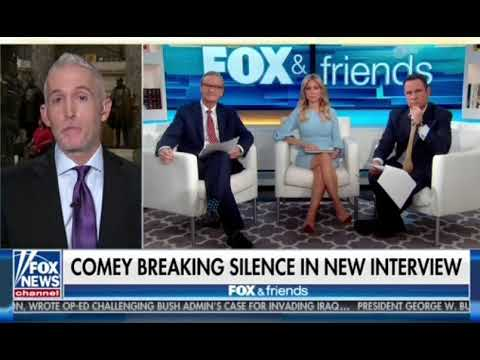 Chairman Gowdy discusses the release of former FBI Director Comey's book on Fox and Friends
