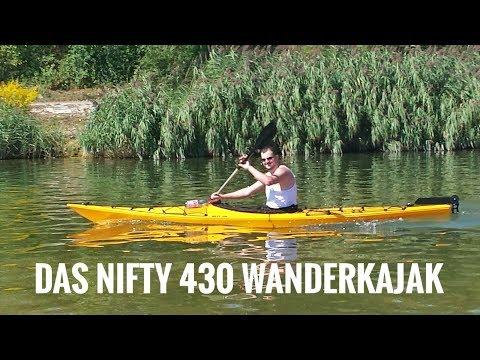 Wanderkajak Delsyk Nifty 430 Vorstellung