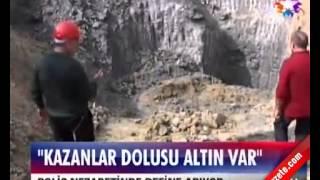 Gambar cover Mersin'de define heyecanı. Türkiye'yi kurtaracak kazanlar dolusu altın! Ağaç çubuk