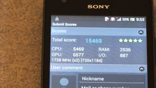Sony Xperia SP Benchmarks and Hardware Information - iGyaan