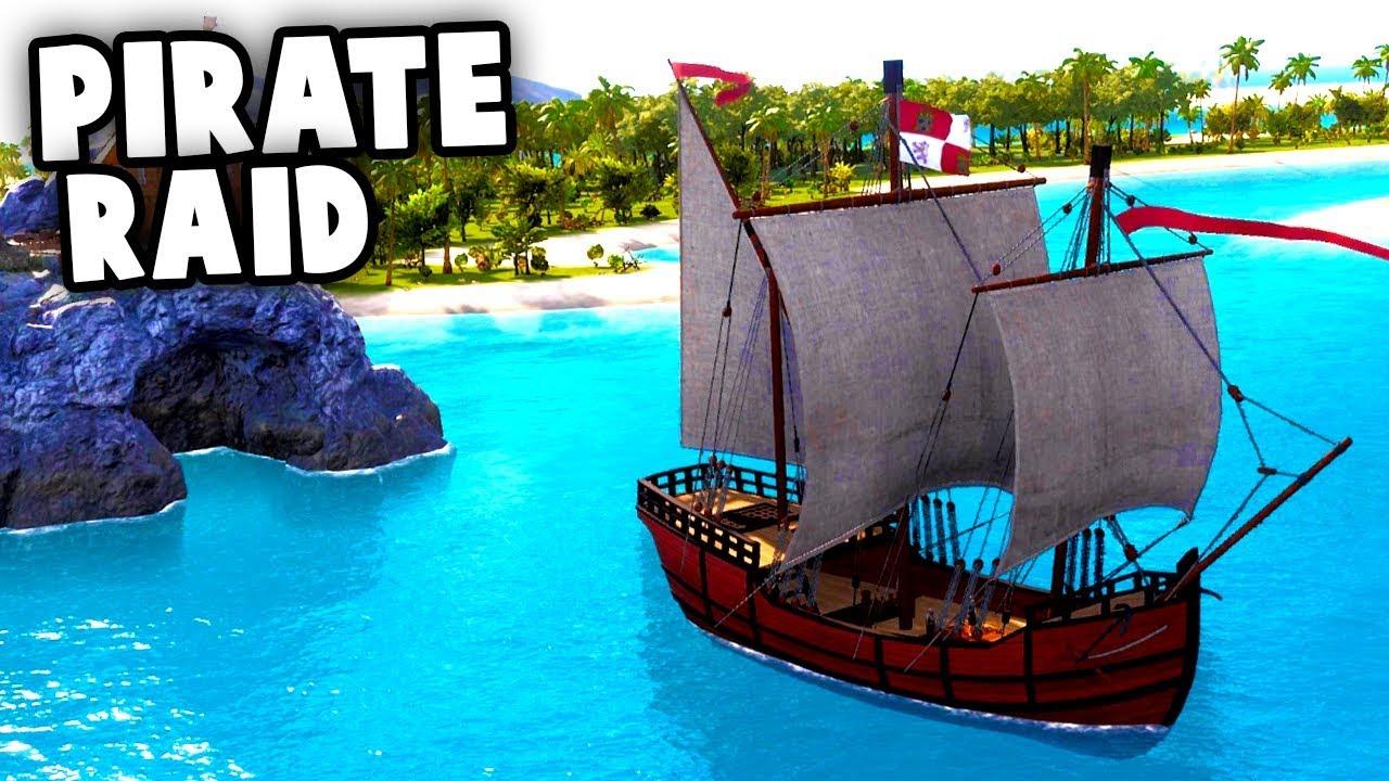 Massive PIRATE RAID On Our Island! (Tropico 6 Beta Gameplay Part 3)